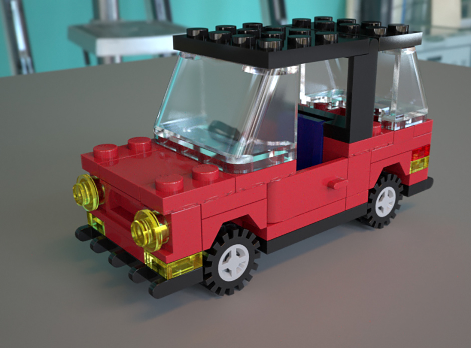 Lego Car Test